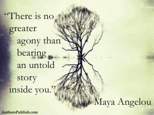 Untold Story Maya Angelou