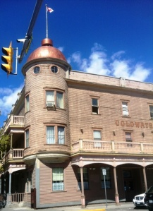 Old Hotel in Merritt, BC